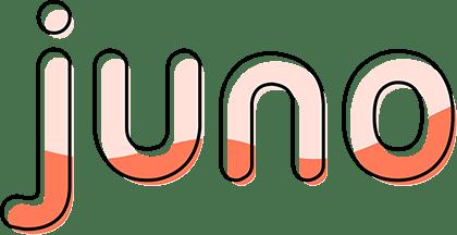 Juno App Schriftzug