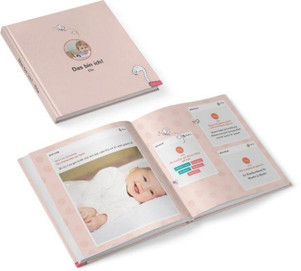 Juno Erinnerungsbuch rosa